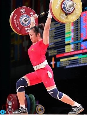 Weightlifters hunt Olympic tickets in Asian champs hinh anh 1