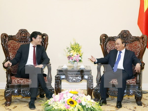 Prime Minister receives WEF Managing Director hinh anh 1