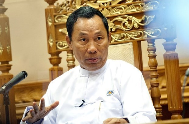 Myanmar's former ruling party relieves 17 senior members hinh anh 1