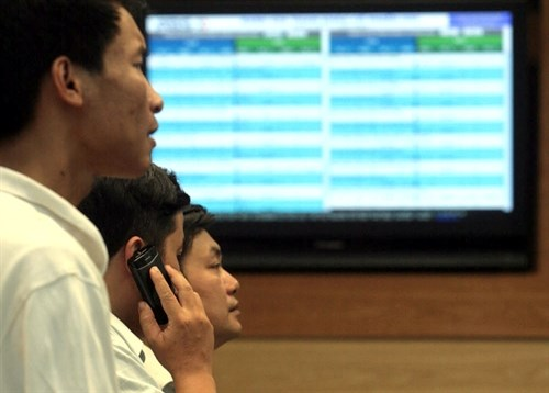 Stocks retreat from two-day gains hinh anh 1