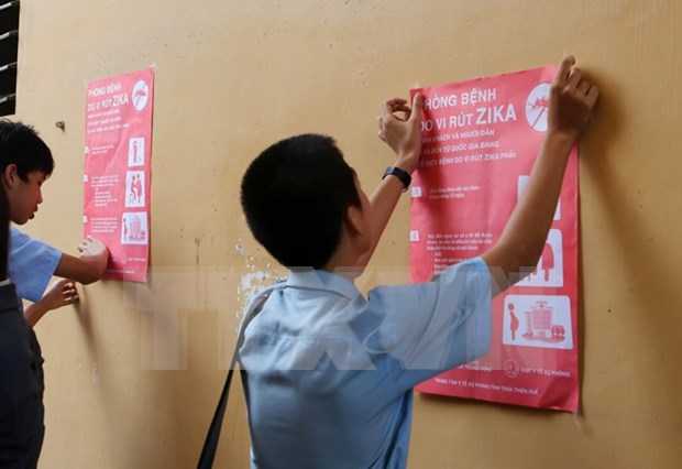 Vietnam free of Zika cases, prevention efforts continue hinh anh 1