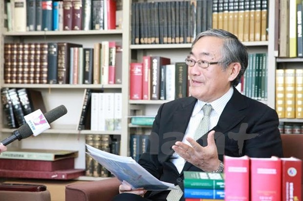 Japanese professor named first Vietnam-Japan University rector hinh anh 1