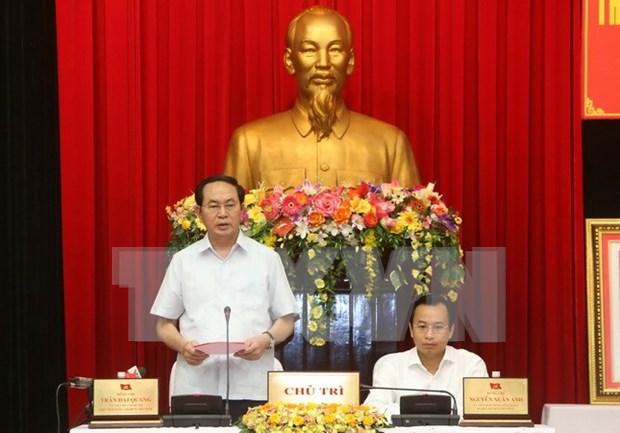 President asks Da Nang to ensure 2017 APEC events' success hinh anh 1