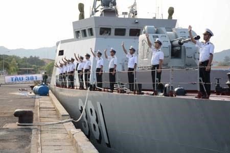 Vietnam deploys corvette to ADMM-Plus exercise hinh anh 1