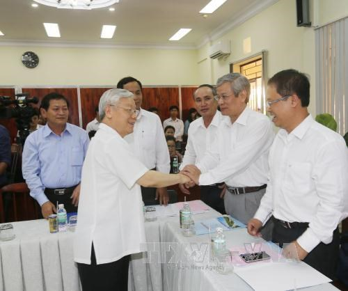 Khanh Hoa development yet to equal potential: Party chief hinh anh 1