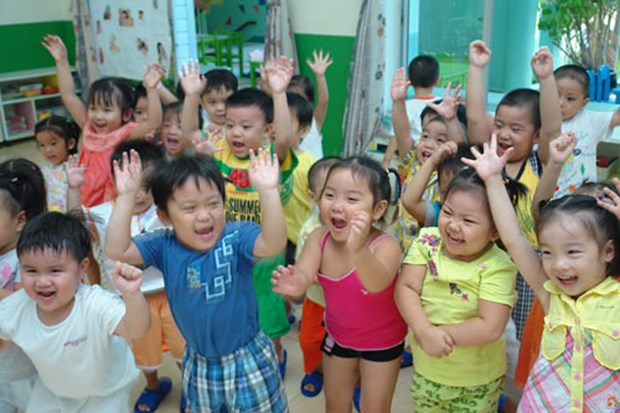 Binh Thuan achieves preschool education universalisation hinh anh 1