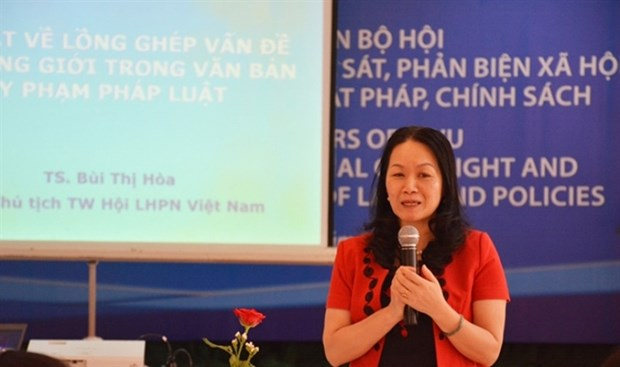 Policies essential part of gender equality hinh anh 1