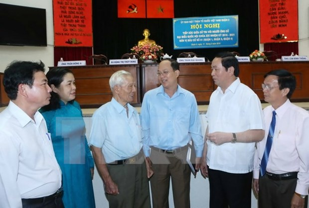 HCM City: NA deputy candidates vow to be deserving of voters' trust hinh anh 1