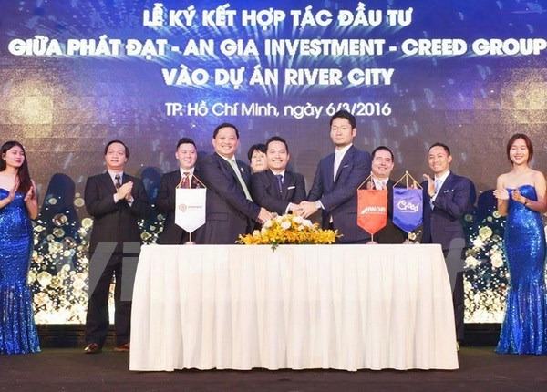 Japanese firms flock to Vietnam's real estate market hinh anh 1