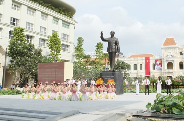 HCM City plans activities to mark Uncle Ho's birthday hinh anh 1
