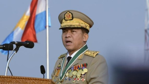 Myanmar military backs constitution amendment hinh anh 1