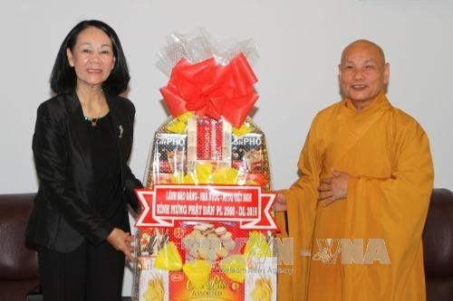 Congratulations to HCM City Buddhists on Buddha's birthday hinh anh 1