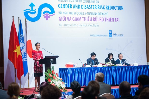 Women key to dealing with disaster risks: UN Women official hinh anh 1