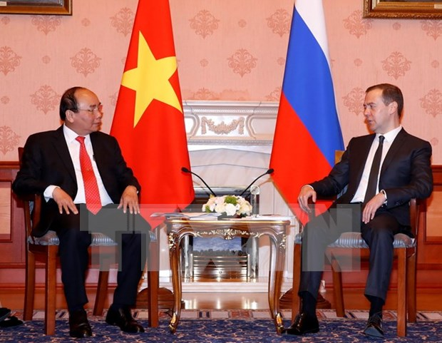 Vietnam, Russia resolved to intensify comprehensive strategic ties hinh anh 1