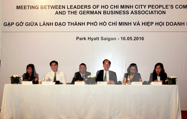 German enterprises seek opportunities in HCM City hinh anh 1