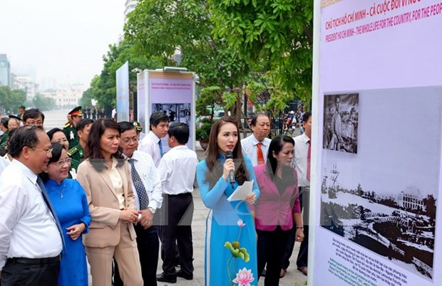 Exhibitions highlight late President's moral, ideological legacies hinh anh 1