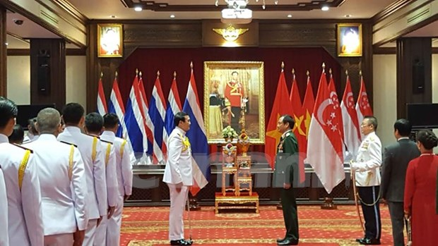 Vietnamese official granted Thai Knight Grand Cross hinh anh 1