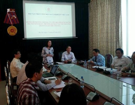 AO-infected veterans gain aid from support policies hinh anh 1