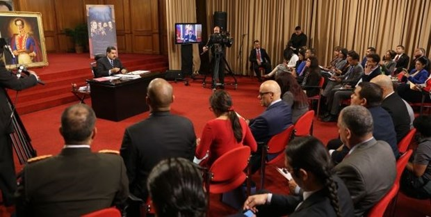 President Maduro: Venezuela faces worst threat in recent years hinh anh 1