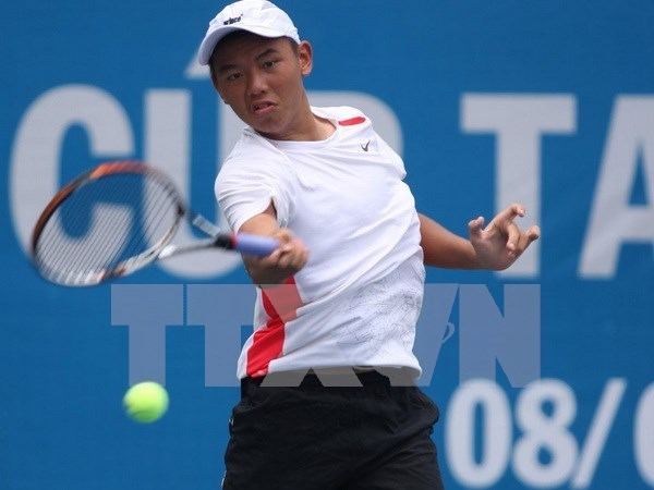 Vietnam's young ace jumps six places in world tennis rankings hinh anh 1