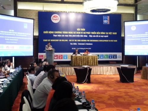 Vietnam to devote its best to implement 2030 Agenda goals hinh anh 1