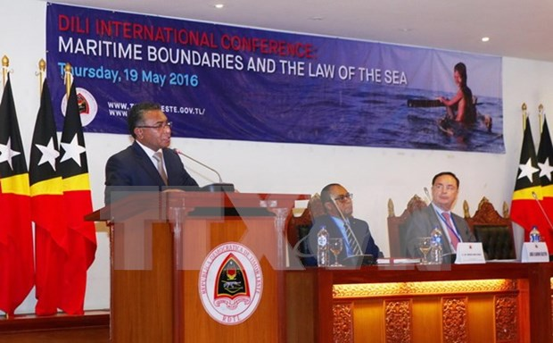 Dili conference spotlights maritime boundaries and sea law hinh anh 1
