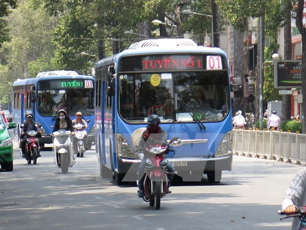 HCM City launches new five-star bus route to int'l aiport hinh anh 1