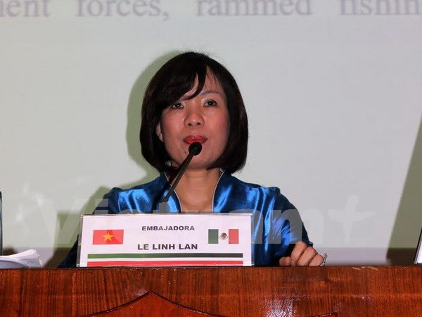 East Sea issue spotlighted in Mexico hinh anh 1