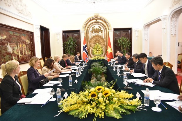 Vietnam, Norway to reinforce marine economic partnerships hinh anh 1