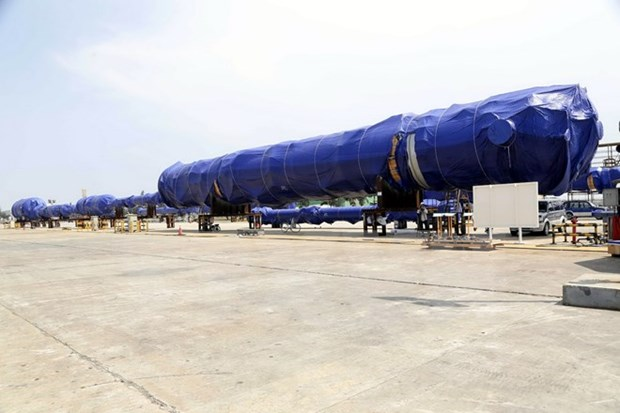 Doosan Vina hi-tech products shipped to Peru hinh anh 1