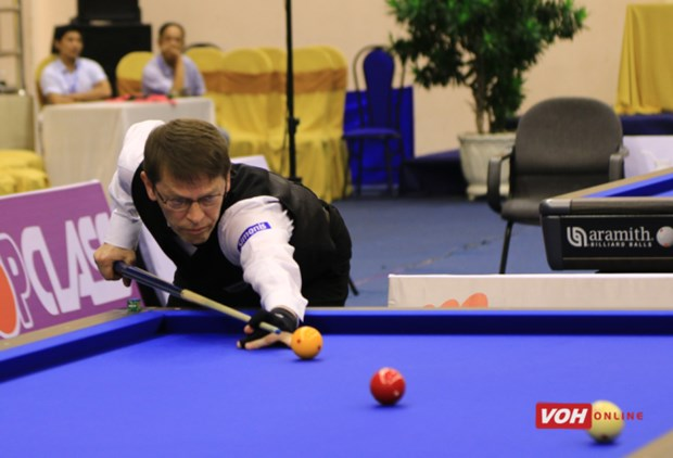 Global top players compete at billiards World Cup in HCM City hinh anh 1