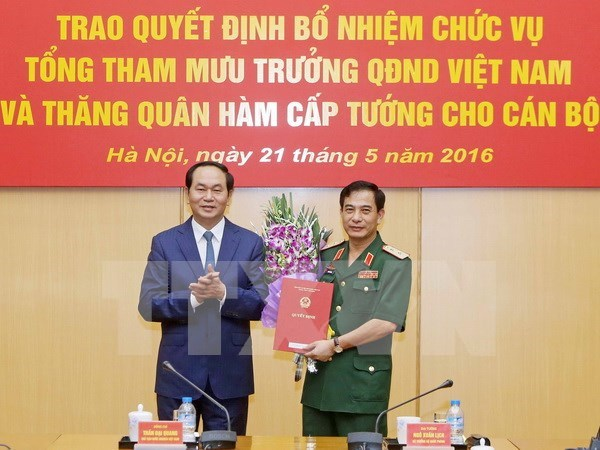 New Chief of Vietnam People's Army General Staff appointed hinh anh 1