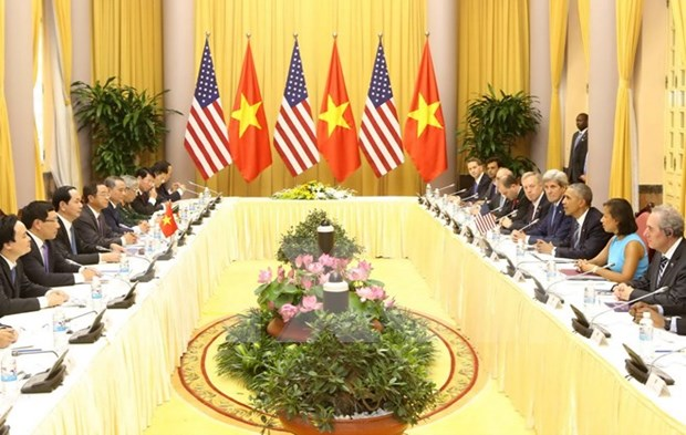 Vietnamese, US leaders discuss ways to boost bilateral ties hinh anh 1