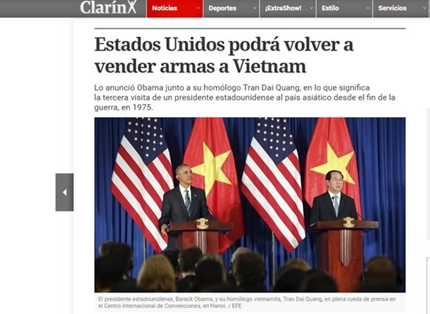 Int'l press continue to highlight Obama's visit to Vietnam hinh anh 1