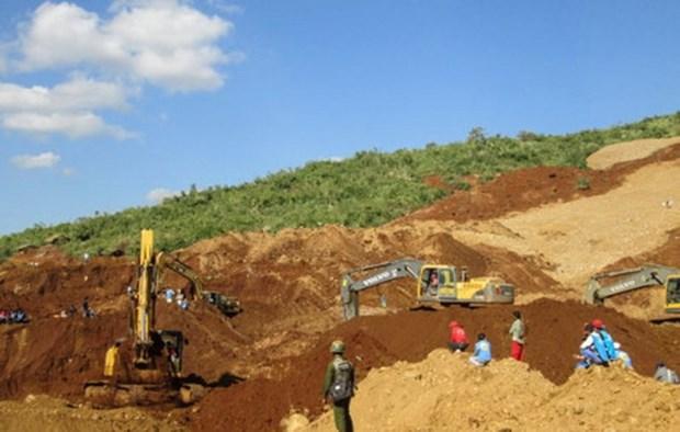 Myanmar landslide buries over 100 jade miners hinh anh 1