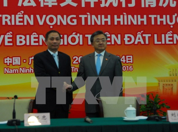 Legal documents enhance VN – China's border stability, development hinh anh 1