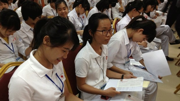 180 nurses depart for Japan to work hinh anh 1