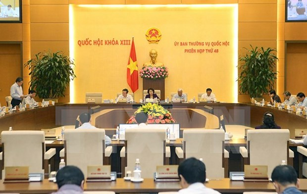 NA Standing Committee adopts two resolutions hinh anh 1