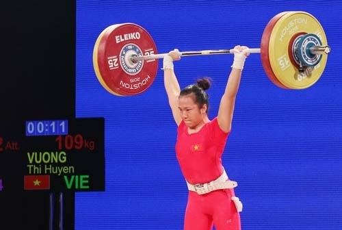 Weightlifter Huyen to compete at Olympics hinh anh 1