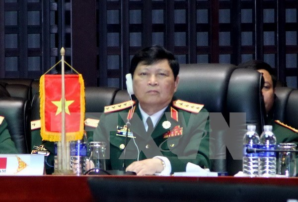 ASEAN, Chinese defence ministers meet in Laos hinh anh 1