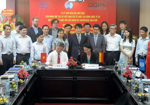 Cooperative alliance, ILO work to boost employment, poverty reduction hinh anh 1