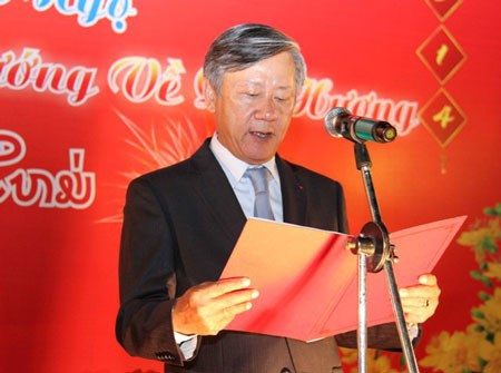 Talks on President Ho Chi Minh's thoughts held in Laos hinh anh 1