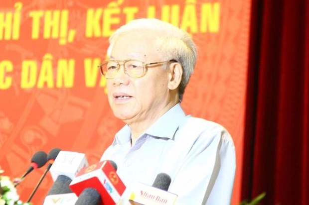 People – root of mass mobilisation work: Party chief hinh anh 1