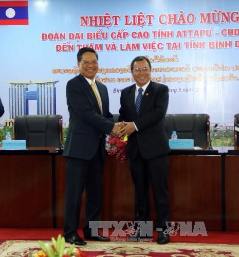 Lao province seeks cooperation opportunities with Binh Duong hinh anh 1