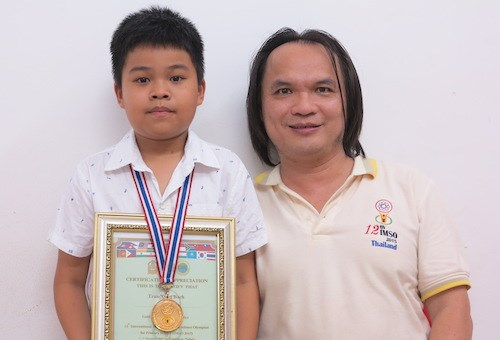 Vietnamese students shine at regional maths contest hinh anh 1