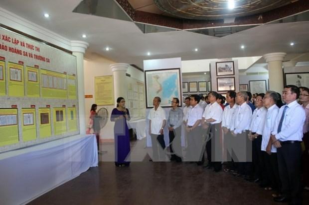 Quang Nam exhibition spotlights Vietnam's sea, island sovereignty hinh anh 1