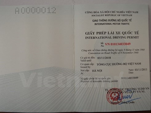 International driving licence officially issued online hinh anh 1