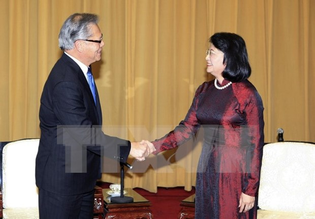 Vice President receives South Australia Governor, Premier hinh anh 1