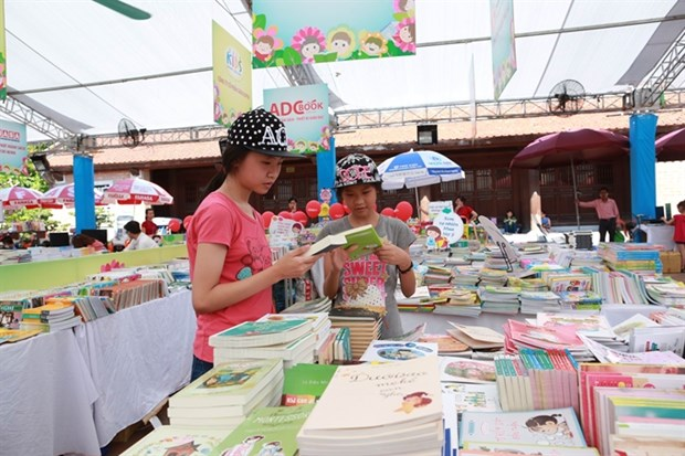 First ever children's book festival in Hanoi hinh anh 1
