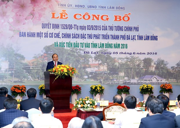 Lam Dong province benefits from special policies to develop hinh anh 1